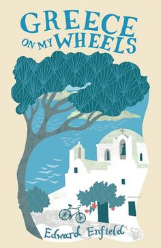 Greece on my wheels | Illustration by Alice Stevenson #bookcover #illustration #colors