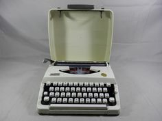 Vintage Manual Typewriter Brother Charger 11 Portable with Carrying Cover WORKING by WesternKyRustic on Etsy