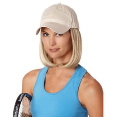 Clic Medium Wig Beige Cap Hair Permanently Attached To 100 Cotton