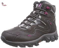 Salomon  Sokuyi WP, Chaussures de trekking et randonnée femme - Noir - Schwarz (Detroit/Autobahn/Mystic Purple), 38 - Chaussures salomon (*Partner-Link)