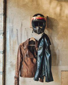 Biker Helmets, Womens Motorcycle Helmets, Cafe Racer Motorcycle, Motorcycle Style, Motorcycle Girls, Motorcycle Gear, Triumph Street Scrambler, Honda Motorcycles, Vintage Motorcycles