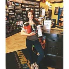 @ursulamayes came in the other day to stock up on all the essentials!! She's trying to add an extra 10 pounds of pure muscle and with her drive and motivation that's gunna be cake  we are glad to have such a beautiful girl join the @nutrishopusa team!! #nutrishop #nutrishopusa #newportbeach #costamesa #socal #fitness #bodybuilding #motivation #aesthetics #fitnessmodel #coach  #shredded #inspire #beast #fitfam #special #fitness #lean #killinit by nutrishopnb