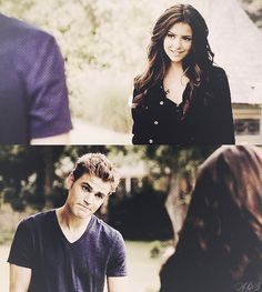 Katherine loves playing games, but Stefan's not buying any of them! ;)