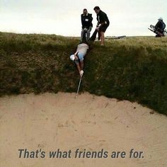 Tag your golf buddies that would do this for you! | Rock Bottom Golf #RockBottomGolf