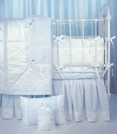 blauen duckling crib bedding