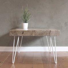 Patas para muebles de estilo industrial, mid century. Aptas para mesas, sillas y bancos. Crea tu propio diseño #diy. De dos y tres varillas y a la medida y color que desees.