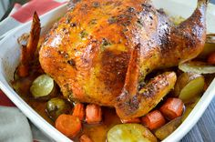 Perfect Roasted Chicken, Puerto Rican Style
