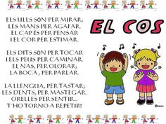 Cançó per aprendre les parts del cos Valencia, Human Body, Musicals, Songs, Comics, Videos, Nature, Texts, School