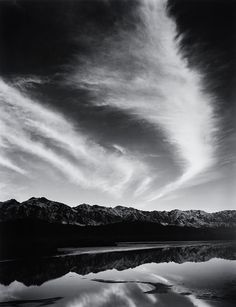 ansel adams photos | ARS PHOTOGRAPHICA: Ansel Adams - Sierra Nevada, winter evening, from ...