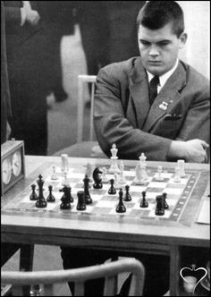 William James Lombardy Leipzig, Germany 1960. Born: New York City, USA on December 4, 1937 Title: Grandmaster (1960) World Junior Champion (1957-59)