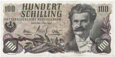 Austria Kronen and Schillings banknotes for sale. Dealer of quality collectible world banknotes, fun notes and banknote accessories serving collectors around the world. Over 5000 world banknotes for sale listed with scans and images online. Central Europe, The Republic, Vienna, Austria, The 100, The Past, Coins, Memories, History