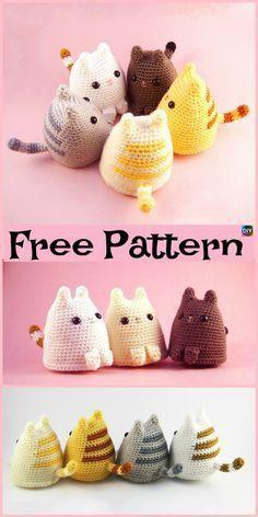 Mesmerizing Crochet an Amigurumi Rabbit Ideas. Lovely Crochet an Amigurumi Rabbit Ideas. Crochet Diy, Chat Crochet, Crochet Mignon, Crochet Crafts, Yarn Crafts, Crochet Ideas, Diy Crafts, Diy Crochet Animals, Beginner Crochet