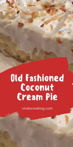 This is a tried-and-true, old-fashioned coconut cream pie. Took many years of searching and baking to find the right one and this is it! Prep : Cook : Ready In : Ingredients 1 Sweet Cream Pie, Best Coconut Cream Pie, Pie Coconut, Cocnut Cream Pie, Coconut Cookies, Raspberry Cream Pies, Lemon Cream Pies, Strawberry Pie, Sugar Cream Pie Recipe