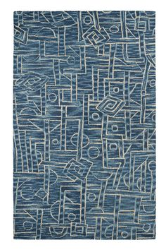 Dream Blue Area Rug