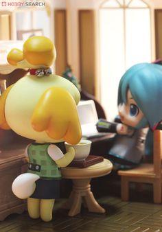 ホビーサーチブログ 3DSからとびだした!ねんどろいど しずえさんと遊ぼう!