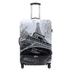 Großer #Koffer F23 Metropol #Paris bei Koffermarkt: ✓Hartschalen-Koffer mit Eiffelturm-Motiv ✓4 Rollen ✓Zahlenschloss ⇒Jetzt kaufen