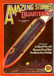 Amazing Stories Quarterly 1928 Spring - Pulp magazine - Wikipedia