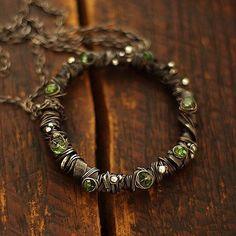 zieleń - cobalt blue ewa lompe biżuteria autorska .