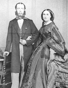 Maximiliano de Habsburgo y Carlota -Segundo Imperio Mexicano 1863-1867