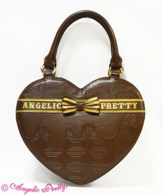 Melty Ribbon Chocolateハートバッグ