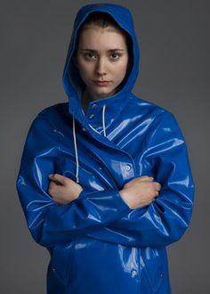 How A Swedish Rainwear Brand Turned Melancholy Into A Marketing Masterstroke Girls Wear, Women Wear, Rain Cape, Rubber Raincoats, Pvc Raincoat, Rain Gear, Girls In Love, Kanye West, Vinyls