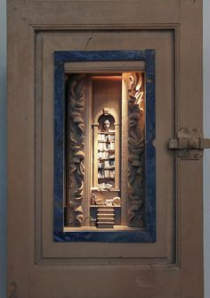 Peter Gabriëlse- box sculpture, new work at Kunst & Antiek Weekend - Naarden 2015