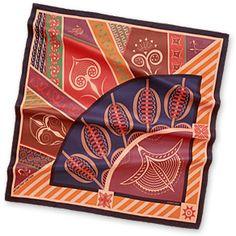 Hermes Women's Medium Silk Twill Scarves in Pink | Hermes.com