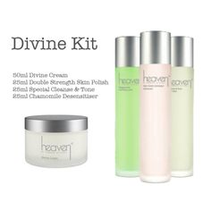Heaven Divine Kit http://qbeautywellness.com/index.php/heaven/heaven-divine-kit.html