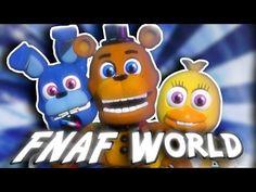 Como descargar five nights at freddy's world para laptop mx - YouTube