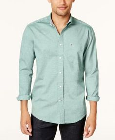 TOMMY HILFIGER Tommy Hilfiger Men'S Capote Shirt. #tommyhilfiger #cloth #down shirts
