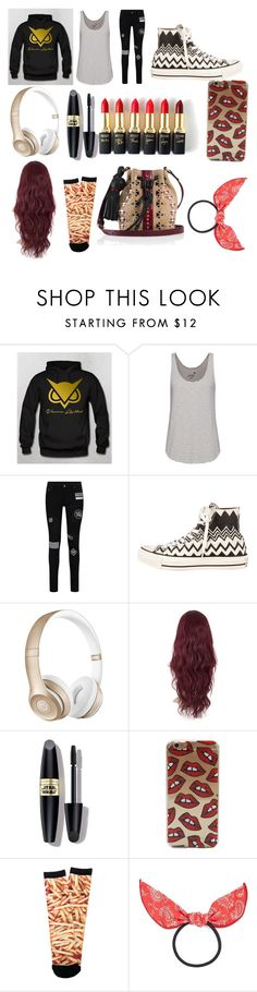 """""""VanossGaming"""" by ladytaurus-queengrizzly ❤ liked on Polyvore featuring Juvia, Converse, Beats by Dr. Dre, Max Factor, L'Oréal Paris, Pyknic, Cara and Tamara Mellon"""