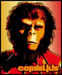 #digitalart #vectorart #computerart #vintage #planetoftheapes #posterart #posterdesign Poster Design, Planet Of The Apes, Cornelius, Vintage, Digital, Movies, Movie Posters, Art, Art Background