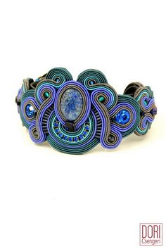 Dori Csengeri's soutache bracelet