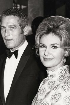 Joanne Woodward and Paul Newman The 41st Annual Academy Awards, 1969   Read more: 21 Vintage Couples on the Oscars Red Carpet - Grace Kelly, Clark Gable, Hugh Grant, Elizabeth Hurley - ELLE  Follow us: @ElleMagazine on Twitter | ellemagazine on Facebook  Visit us at ELLE.com