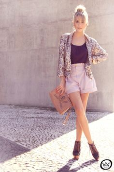 i really want a sequin blazer.
