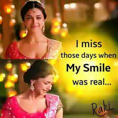 Yeah it was real but now its fake .Bcoz sometimes i want to cry hard but I have to keep a smile on my face .It feels like I'm wearing a mask. First Love Quotes, Crazy Girl Quotes, Real Life Quotes, Reality Quotes, Girly Attitude Quotes, Girly Quotes, Movie Quotes, True Quotes, Story Quotes
