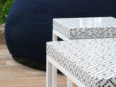 La pietra lavica maiolicata per arredi outdoor