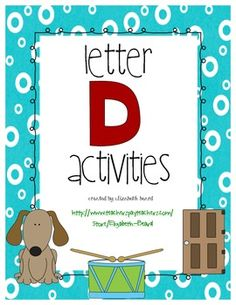 Letter D Activities Preschool and Kindergarten Practice