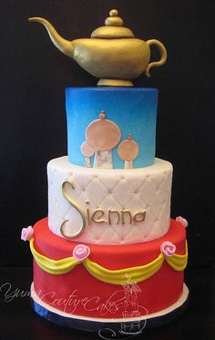 Aladdin cake Custom birthday cakes in Yuma AZ (by Yuma Couture Cakes)