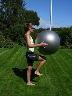 Tren hele kroppen med ball på 20 minutter (joggmedmie)
