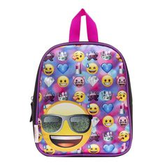 57c56c7e2 Emoji Heart Eyes Smiley Face Mini Backpack -- Want additional info? Click  on the