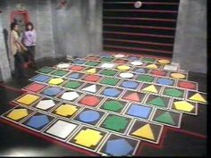 The Adventure Game. Used to love the outer space part at the end when they had to step on platforms.