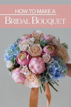 How To Make A Bridal Bouquet Create your own wedding bouquet with high quality fake flowers from Designed by Pumpkin Pye Evolve Photography Wedding Flower Guide, Diy Wedding Flowers, Wedding Flower Arrangements, Bridal Flowers, Wedding Ideas, Trendy Wedding, Wedding Decorations, Wedding Vows, Wedding Centerpieces