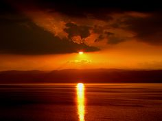 Dead Sea, Israel / Jordan - Dead Sea Sunset