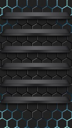 ↑↑TAP AND GET THE FREE APP! Shelves Cells Сomputer Graphics Dark Style For Guys Cool Black HD iPhone 6 Wallpaper