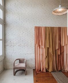 Feb 2020 - Our layered custom cheesecloth backdrop and blush pink mod Lola chair at The Revive Collective's One-Day Women's Conference in Austin, Texas at One Eleven East. Diy Photo Backdrop, Decoration Photo, Photo Backdrops, Photobooth Backdrop Diy, Boho Backdrop, Pink Backdrop, Wall Backdrops, Backdrop Decorations, Ceremony Backdrop