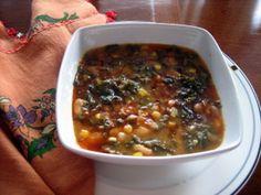 Kale Soup  (Karalahana Corbasi - Black Sea Region)