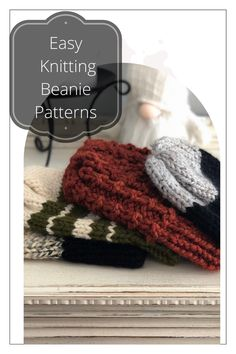 All Free Knitting, Cable Knitting, Easy Knitting Patterns, Knitting For Beginners, Knitting Designs, Easy Knit Hat, Knitted Hats, Knit Gifts, Yarn Store