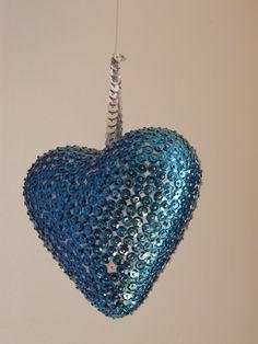 Coeur paillettes