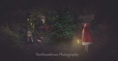Northumbrian Photography at Haggerston Castle doing a Little Red Riding hood fantasy Composite Image